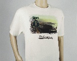 VW T1 BUS T-SHIRT UNISEX (L) - HIGHWAY 1/NATUR