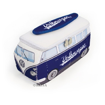 VW T1 BUS 3D NEOPRENE UNIVERSAL BAG - BLUE/CLASSIC
