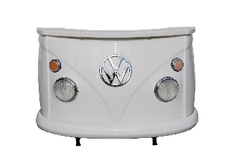 VW T1 BUS BAR - FRONT/WHITE