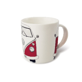 VW T1 BUS COFFEE MUG 370ml IN GIFT BOX - RED