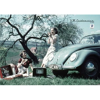 VW BEETLE POSTER A2 FORMAT