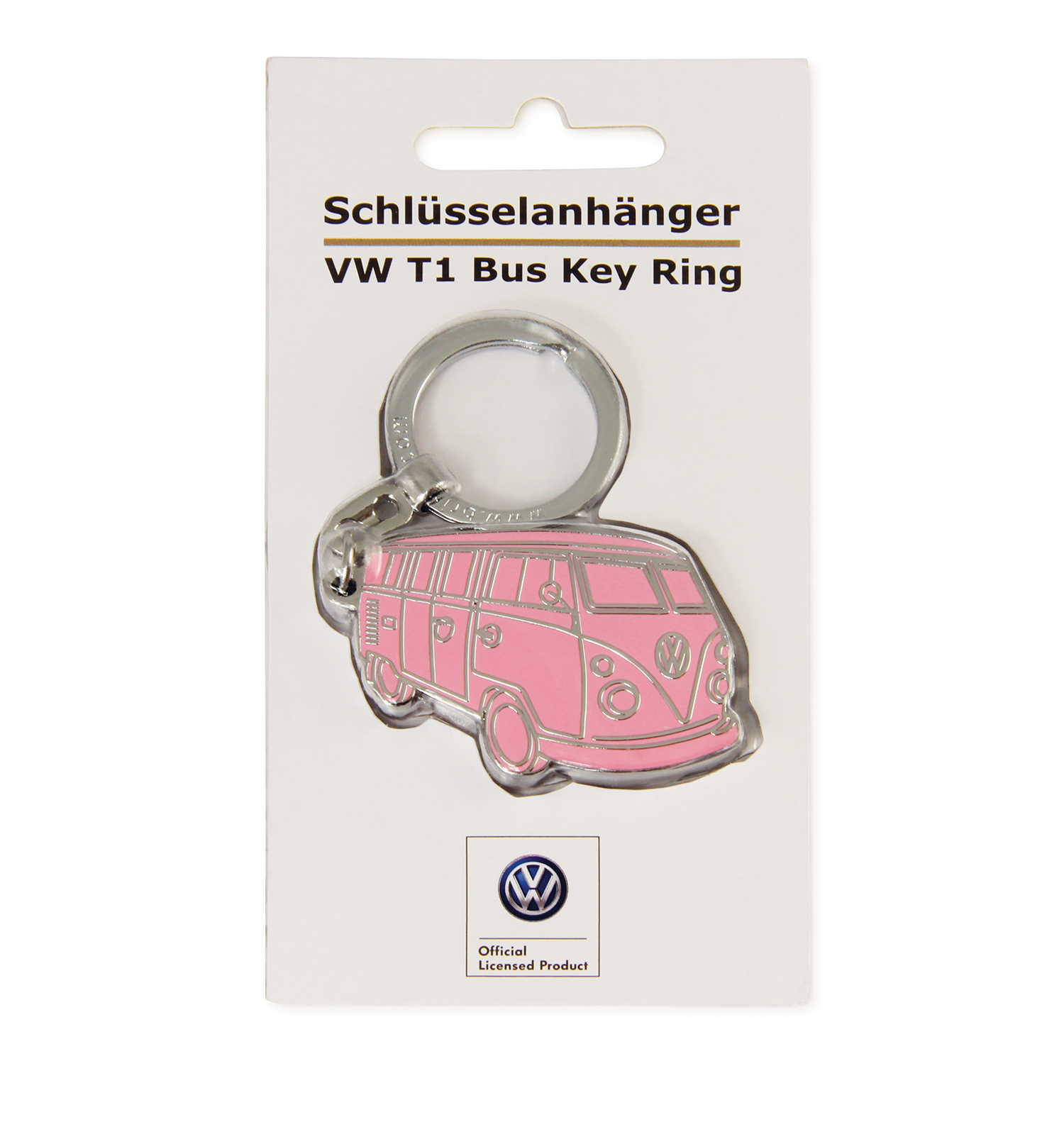vw t1 bus schl sselanh nger in sichtverpackung. Black Bedroom Furniture Sets. Home Design Ideas