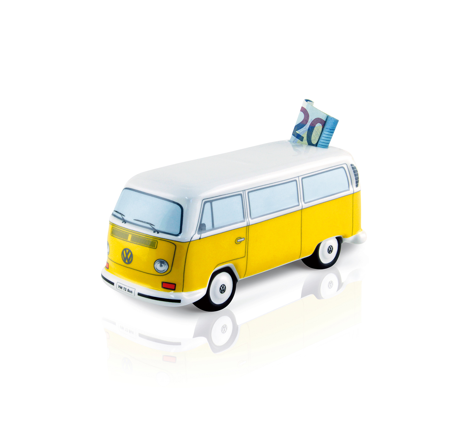 085d876631 VW T2 BUS MONEY BANK CERAMIC (SCALE 1 22) IN GIFT BOX - ORANGE-T2MB01