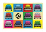 VW BEETLE METAL SIGN - MULTICOLOR