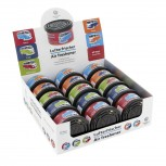 VW T1 BUS AIR FRESHENER IN A TIN - 15-PC SET IN 5 COLOURS IN DISPLAY