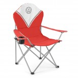 VW DELUXE PADDED CHAIR - RED  (OLD: B-517058)