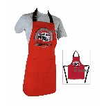 VW T1 BUS APRON IN GIFT BOX - VINTAGE LOGO/RED