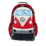 VW T1 BUS BACKPACK - RED