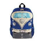 VW T1 BUS BACKPACK SMALL - BLUE