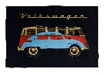 VW T1 BUS FLEECE BLANKET - SAMBA & BEETLE