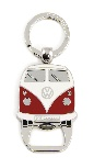 VW T1 BUS KEY RING WITH BOTTLE OPENER IN BLISTER PACKAGING - RED (D)