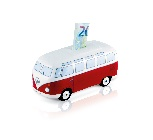 VW T1 BUS MONEY BANK CERAMIC (SCALE 1:22) IN GIFT BOX - CLASSIC RED