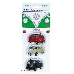 VW T1 BUS MAGNET 3PC-SET IN BLISTER PACKAGING - SPECIAL VEHICLE