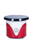 VW T1 BUS TABLE OIL DRUM (208L) - WHITE/RED