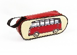 VW T1 BUS PENCIL & COSMETIC CASE - CLASSIC BUS