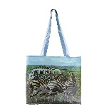 VW T1 BUS PVC SHOPPER BAG - SAFARI