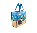 VW T1 BUS SHOPPER BAG - BEACH LIFE
