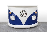 VW T1 BUS BAR - FRONT/BLUE