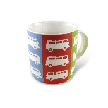 VW T1 BUS KAFFEETASSE 370ml IN GESCHENKBOX - MULTI COLOR
