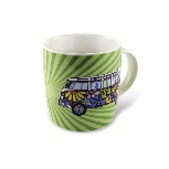 VW T1 BUS COFFEE MUG 370ml IN GIFT BOX - LOVE BUS