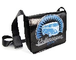 VW T1 BUS MESSENGER BAG - VINTAGE LOGO/BLACK