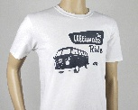 VW T1 BUS T-SHIRT UNISEX (L) - THE ULTIMATE RIDE/WEISS