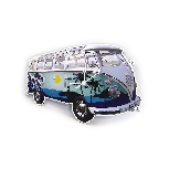 VW T1 BUS WALL CLOCK - SURF