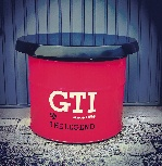VW GTI TABLE OIL DRUM (208L) - RED