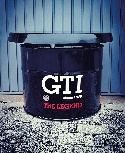 VW GTI TABLE OIL DRUM (208L) - BLACK
