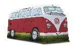 VW T1 BUS GROSSES CAMPINGZELT (4 PERS.) - ROT