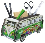 VW T1 BUS STIFTEBOX - PEACE