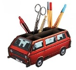 VW T3 BUS STIFTEBOX - ROT